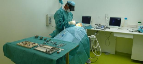 salle d'opération dentaire
